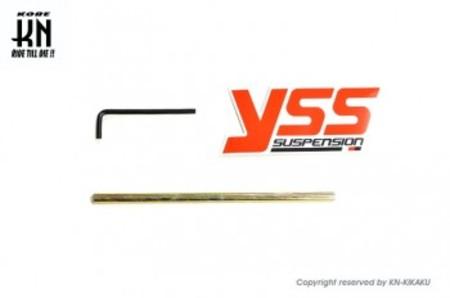 YSS リアショック【365-380mm】G-SP【減衰調整式/車高調整式】ハンターカブ/クロスカブ【ブラック】
