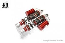 RCB 305mm 減衰調整リアショック【AEROX155,NVX155】SB-2【レッド/ブロンズ】