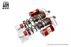 RCB 305mm 減衰調整リアショック【AEROX155,NVX155】SB-5【レッド/ブロンズ】