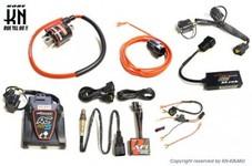 aRacer(アレーサー)【RC Mini5】 Vespa 150(LX/Sprint/Primavera) +bLink3 ワイヤレスモジュール+AF1 O2モジュール+ハーネス + パワースパークコイル 5点セット