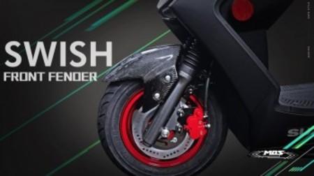 MOS カーボンフロントフェンダー【SWISH】