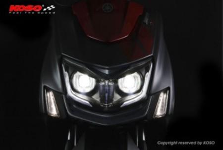 KOSO LEDプロジェクターヘッドライト シグナスX5型【B8S/B2J】