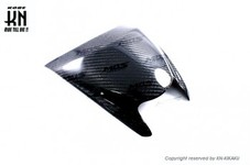 MOS カーボンヘッドライトアッパーカバー【BW'S125(2型/BG1),BW'SR(2JS)】