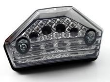 汎用LEDテール 【STARTECH】 スモークレンズ【ウインカー付】