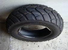 チューブレスタイヤ  ブロックパターン 【KENDA 130/90-10】  K761