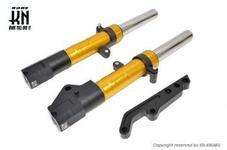スーパーフロントフォーク【ゴールド】シグナスX 【2/3型】245mm/STDキャリパー