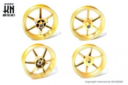 RCB 鋳造ホイール前後セット【SP811】【NMAX125/NMAX155】ゴールド