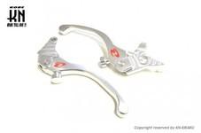 RCB アルミ調整式ブレーキレバー【GSX125/150】S2シリーズ【シルバー】