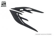 KOSO エアロアンダーサイドカバーダクト【シグナスX5型,B8S/B2J】ブラック