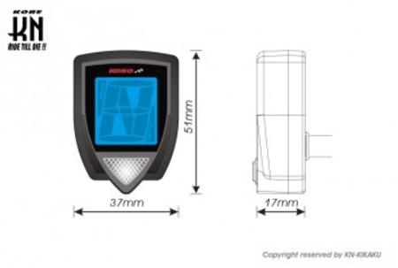 KOSO LCDギアメーター