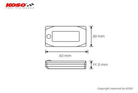 KOSO Mini3デジタル空燃比計 【スズキ系】