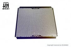 AR APEXX メッシュラジエーターカバー レインボーチタニウムカラー【シグナスグリフィス6型/マジェスティS】