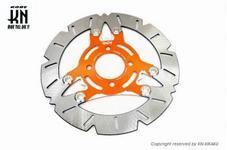 DCR  ビッグローター260mm PCX125/PCX150 【DISK単品】 オレンジ