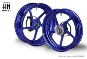 RCB 鍛造ホイール前後セット【FG506】【NMAX125/155】ブルー
