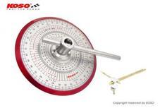 KOSO 全周分度器【バルブタイミング計測工具】汎用
