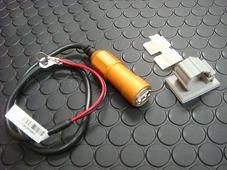 車載用 USB電源ユニット 【アルミボディー/オレンジ】