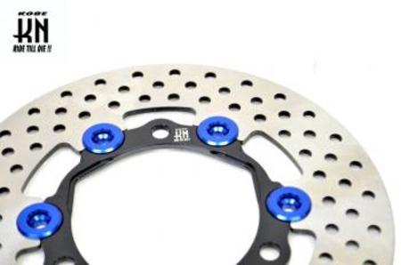 リアフルフローティングディスクローター200mm【シグナスX 4型/BWS125 2型】ブルー