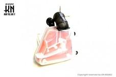 エアクリBOX ヤマハJOG50/90系【規制前】半透明スケルトンホワイト