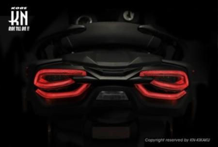 KOSO 3D LEDテールキット【オレンジウインカー/クリアレンズ】シグナスX 5型