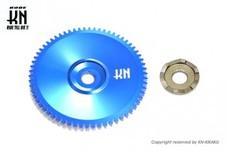 ディオ系 ジャイロ系 太軸用 軽量ドライブフェイス【純正タイプで軽量】ブルー