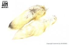 しっぽキーホルダー【キツネ系】