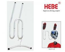 HEBE ヘルメット&ウエアー&グローブ ホルダー【シングル】