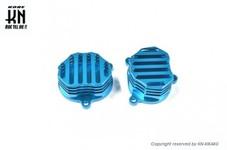 KN企画 ビレットタペットカバー タイプ2【シグナスX/BW'S125】ブルー