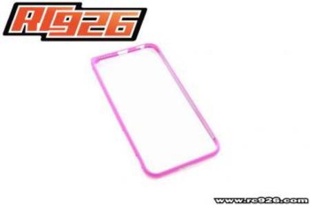 【iphone6】アルミバンパー【RC926】ピンク