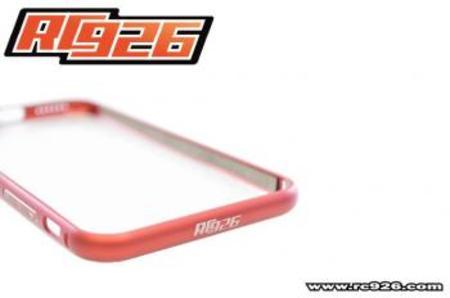 【iphone6】アルミバンパー【RC926】シルバー