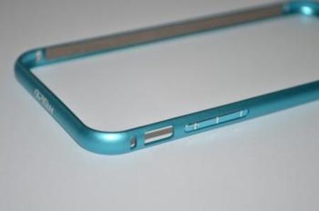 【iphone6】アルミバンパー【RC926】ライトブルー