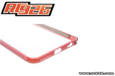 【iphone6】アルミバンパー【RC926】ライトグリーン