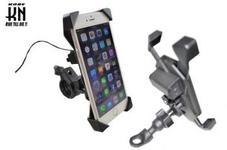 2WAYタイプ 携帯ホルダー【USB電源付き】