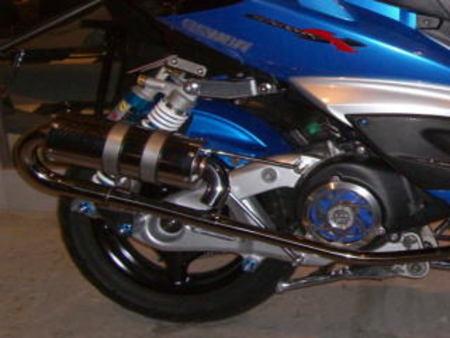 えびちゃん マフラー 160cc
