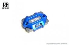アルミビレットマスターシリンダーキャップ【DCR】タイプ3【DCR-KN別注モデル】ブルー