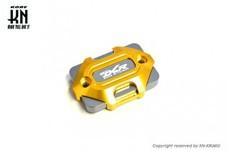 アルミビレットマスターシリンダーキャップ【DCR】タイプ3【DCR-KN別注モデル】ゴールド