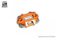 アルミビレットマスターシリンダーキャップ【DCR】タイプ3【DCR-KN別注モデル】オレンジ