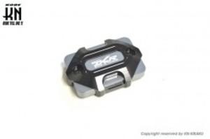 アルミビレットマスターシリンダーキャップ【DCR】タイプ3【DCR-KN別注モデル】ブラック