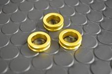 プラグ変換アダプター3個セット【ゴールド】6.0/6.5/7.0mm