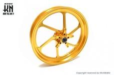 RCB 鍛造ホイール前後セット【FG506】【YZF-R25/R3】ゴールド