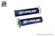 Doppler ハンドルグリップ【非貫通タイプ】 【120mm】クリアー/ブルー