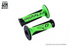Doppler ハンドルグリップ【非貫通タイプ】 【120mm】ブラック/グリーン