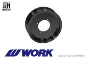 WORK Gee9s コラボレーションホイール【ブラック】12inch/3.5J【タイプLS】
