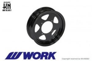 WORK Gee9s コラボレーションホイール【ブラック】12inch/3.5J【タイプMS】