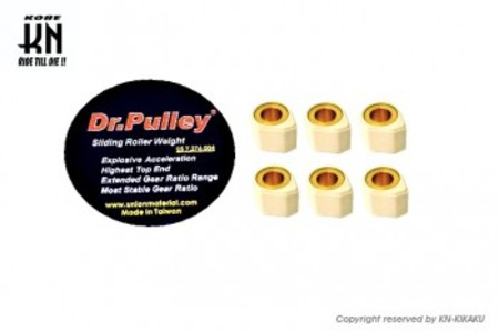 DR.PULLEY 異型ウエイトローラー 16×13【8.0g】