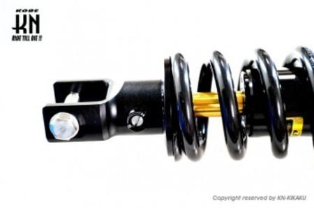 RCB 265mm リアショック減衰調整【YZF-R15/FZ150i】DB-2【プレミアムブラック】モノサス