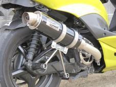 ホットラップ タイプ109マフラー ブラックタイプ シグナスX (O2センサー車両)