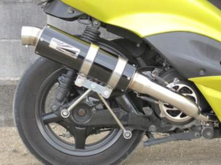 ホットラップ タイプ109マフラー ブラックタイプ シグナスX