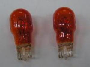ウインカー球【ウエッジタイプ】 オレンジ発光【12V10W/2個入】