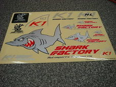 SHARK-FACTORY ステッカーキット350mm*250mm