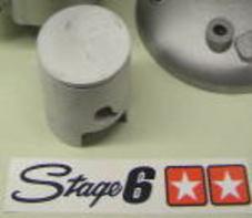STAGE6 直径47.6mm ピストンピン経10mm ピストンキット 70cc用